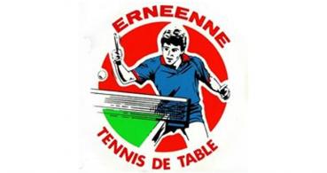 logo Ernéenne sports tennis de table