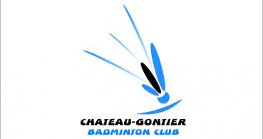 logo Chateau-Gontier Badminton Club