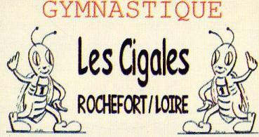 logo Les cigales Gymnastiques de Rochefort sur Loire Section Gym détente