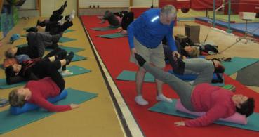photo 4 Les cigales Gymnastiques de Rochefort sur Loire Section Gym détente