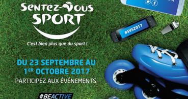 Sentez-Vous Sport du 23 septembre au 1er octobre 2017